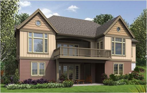 craftsman house plan with finished daylight basement dfd 2fa8b0dfa2675fc1