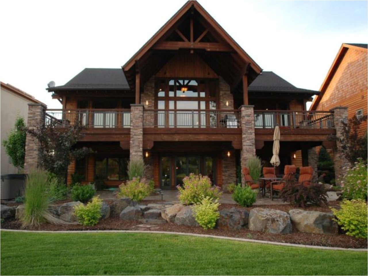 Home Plans with Finished Walkout Basement Finished Walkout Basement House Plans House Plans with