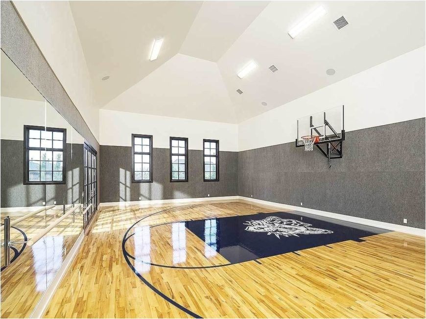 house basketball court