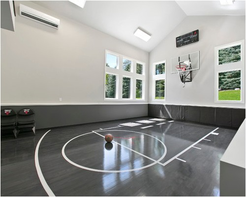 building indoor basketball courts for the active home
