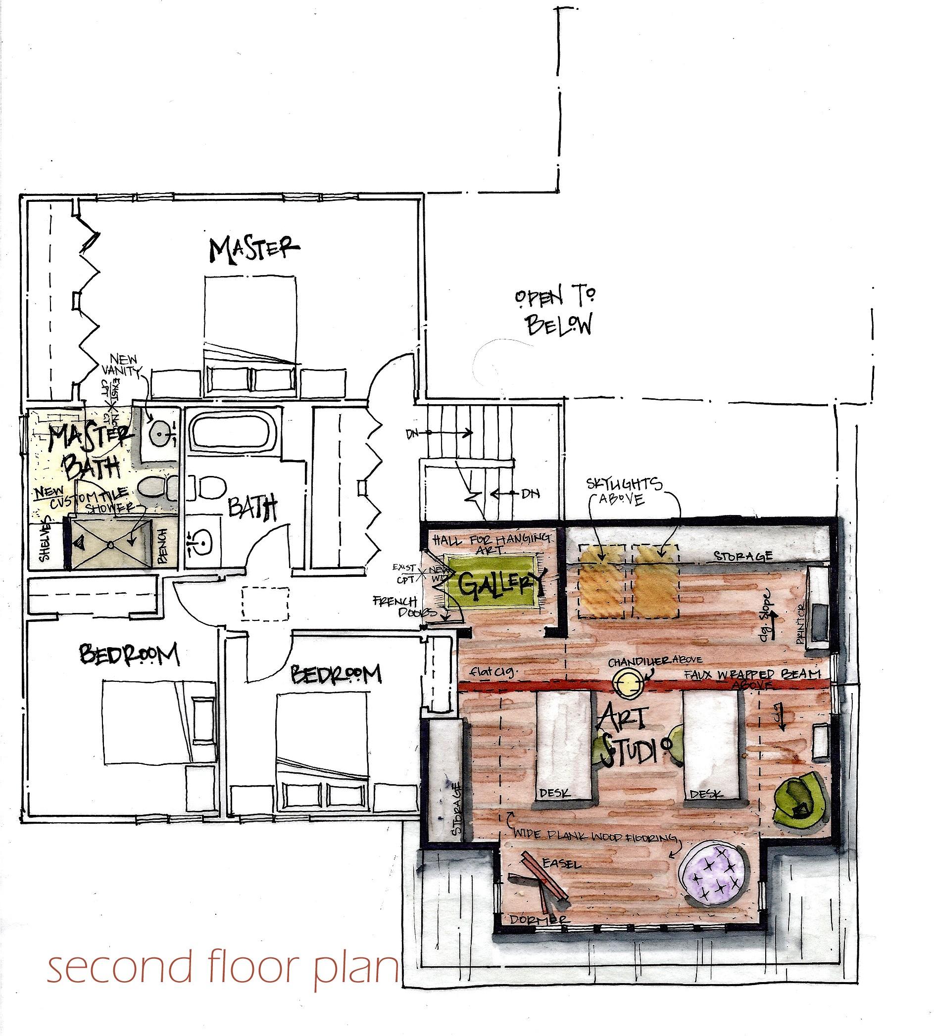 home art studio project