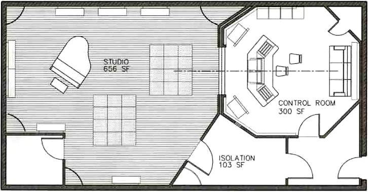 Home Studio Floor Plan Stunning Recording Studio Floor Plans 726 X 379 60 Kb