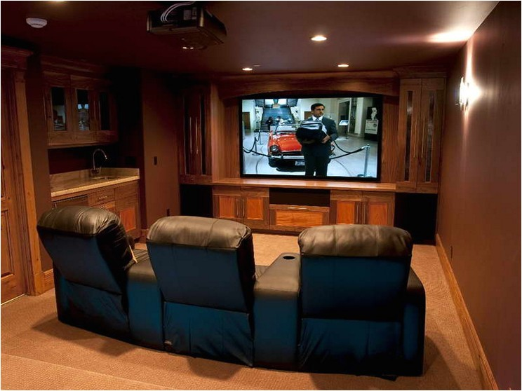 home theater ideas for simple application