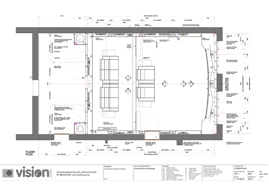 Home Theatre Planning And Design Guide Home Theatre Adelaide Vision Living  Are Adelaide 39 S Home