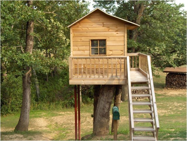free standing tree house plans