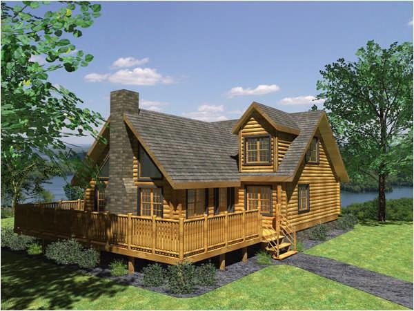 aspen log cabin plan