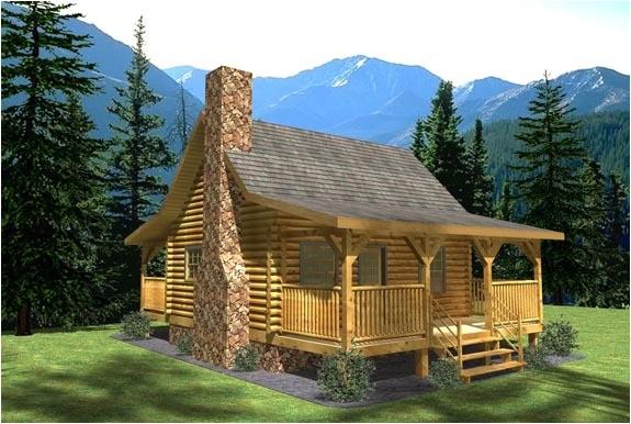 tiny homes log cabin