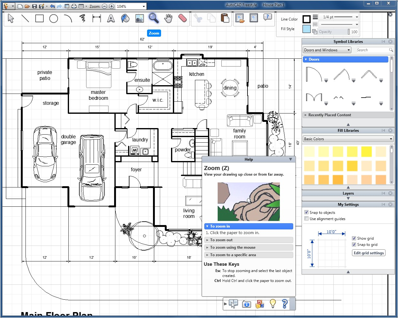House Plan Drawing tool Amazon Com Autocad Freestyle Old Version software