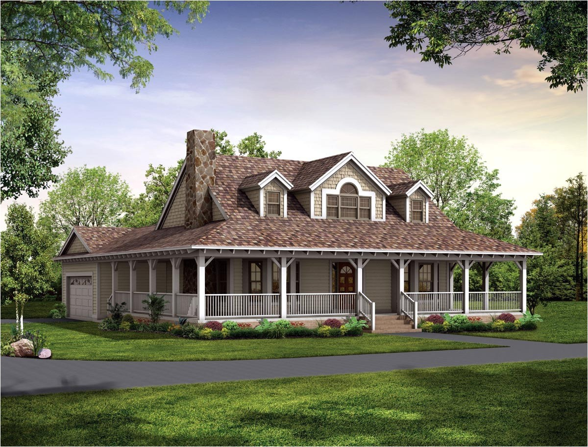 14362 country homes plans with porches