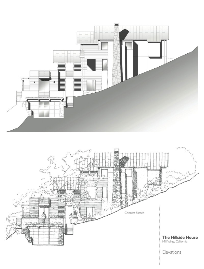 hillside house by sb architects video