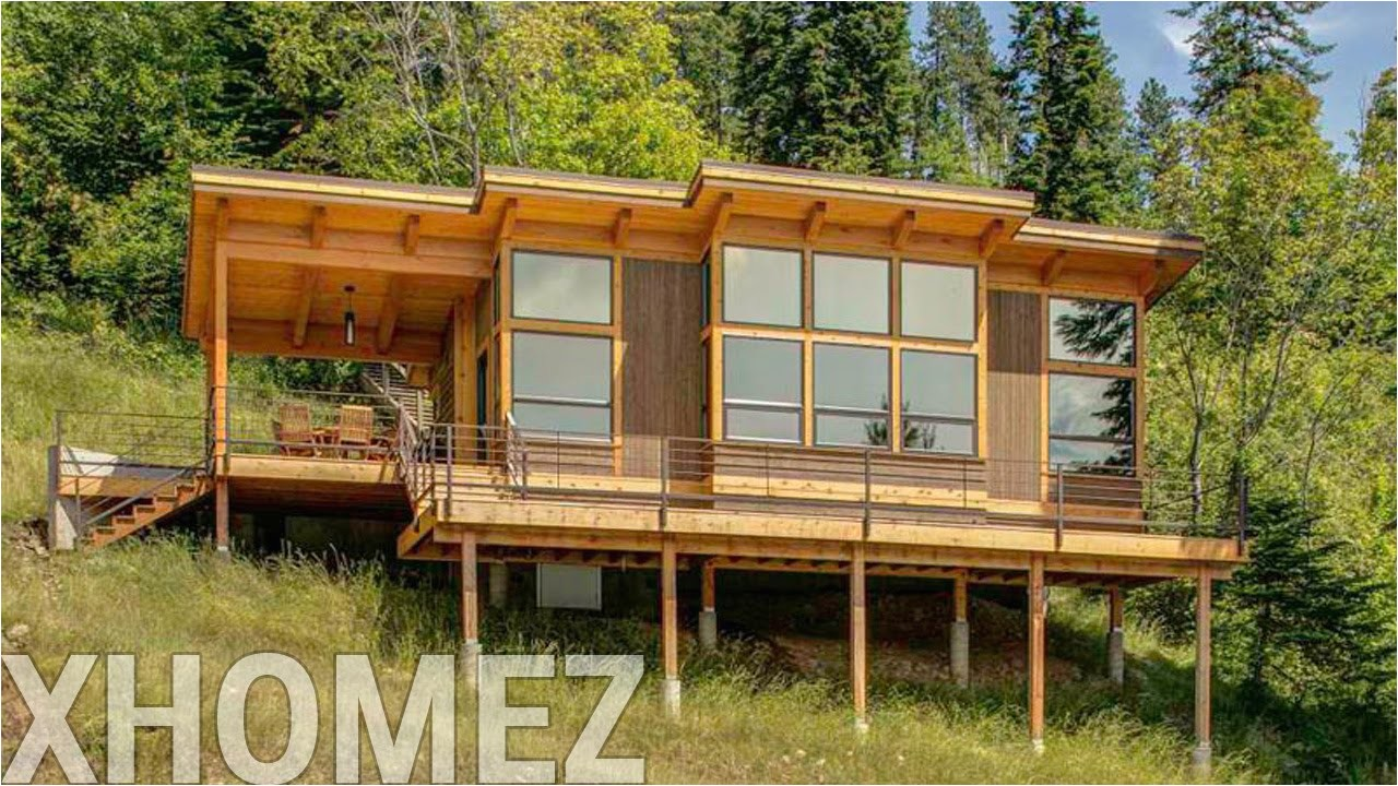 hillside house design