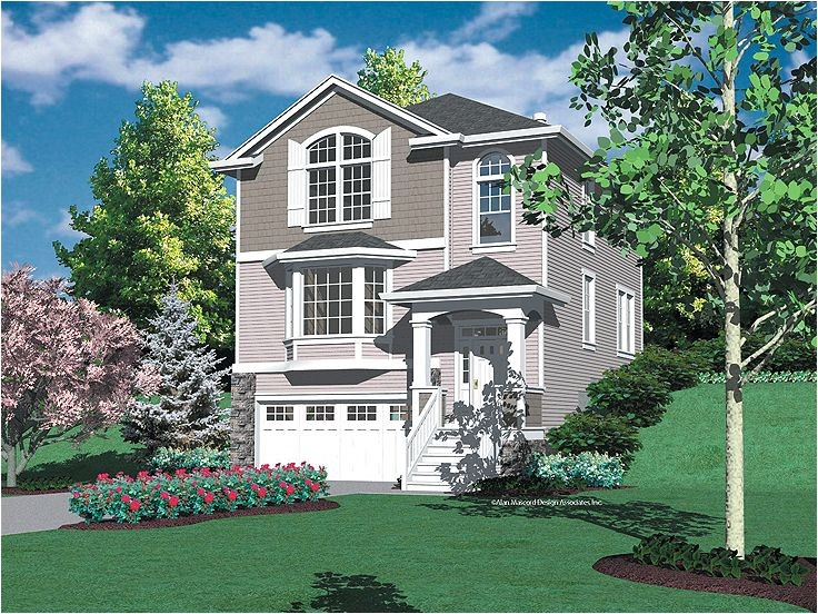hillside view home plans