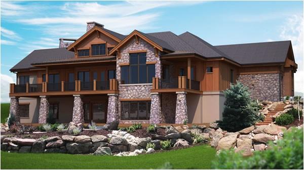 unique hillside house plans 9 hillside house plans with walkout basement