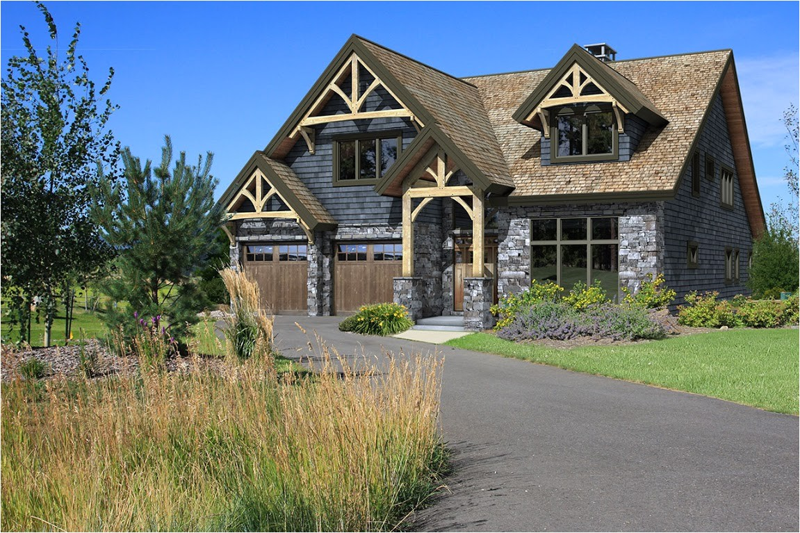 hybrid timber frame house plans