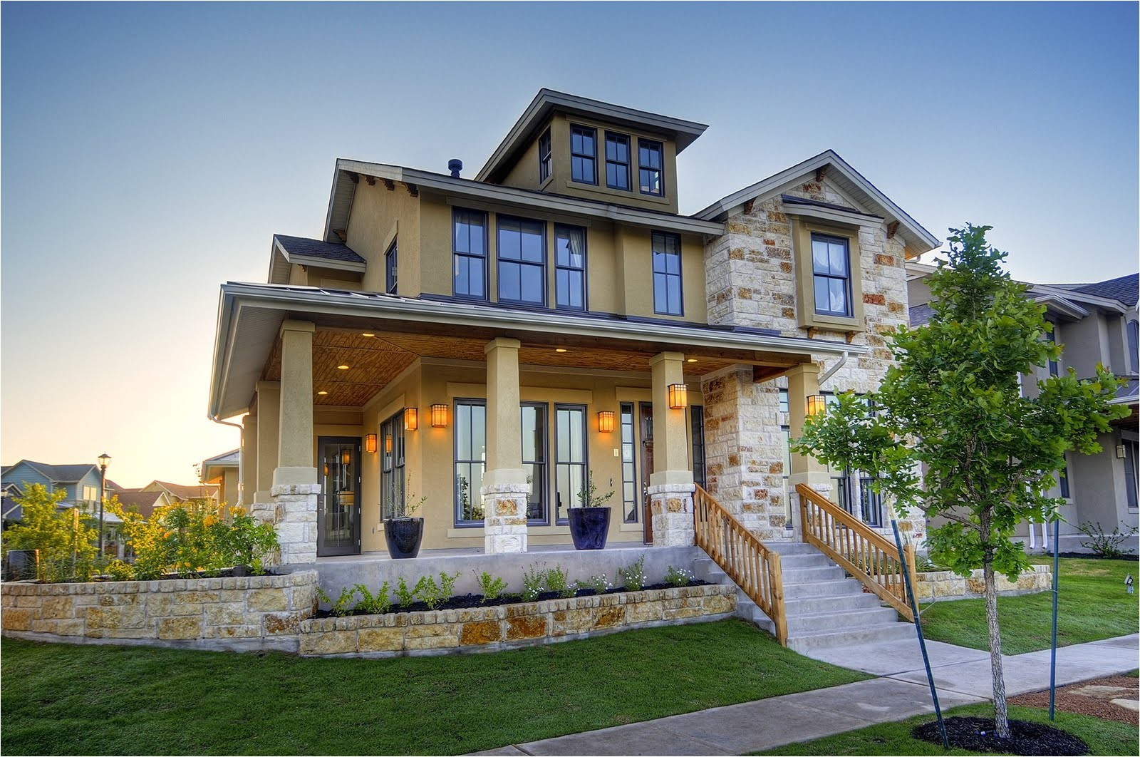 modern homes designs front views texas