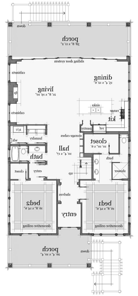 1941088 beach cabin house plans 4 plan 44091td designed for water views