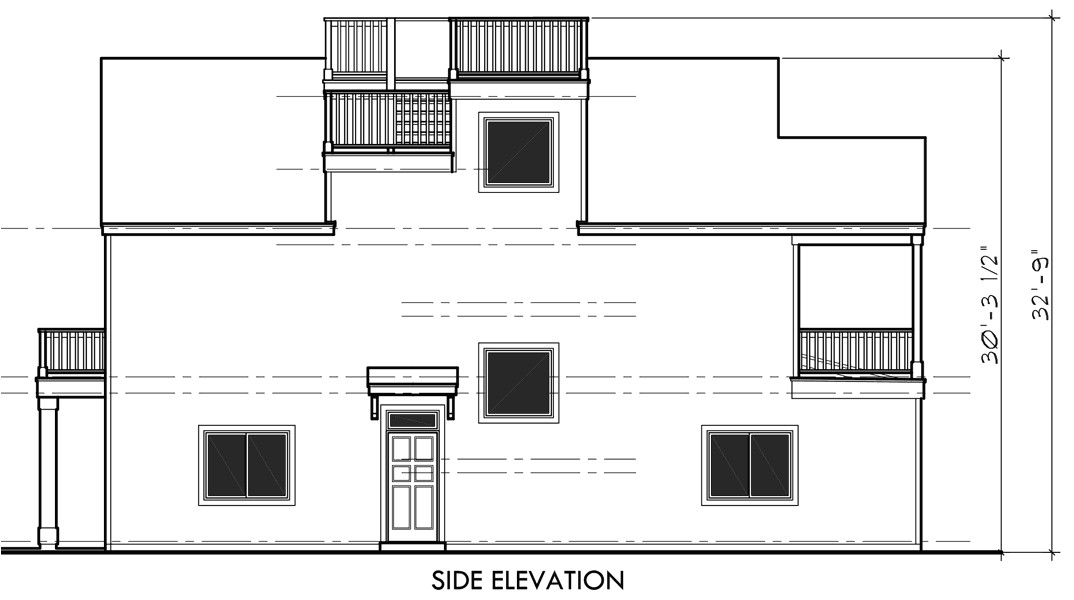 house plans with a view of the water