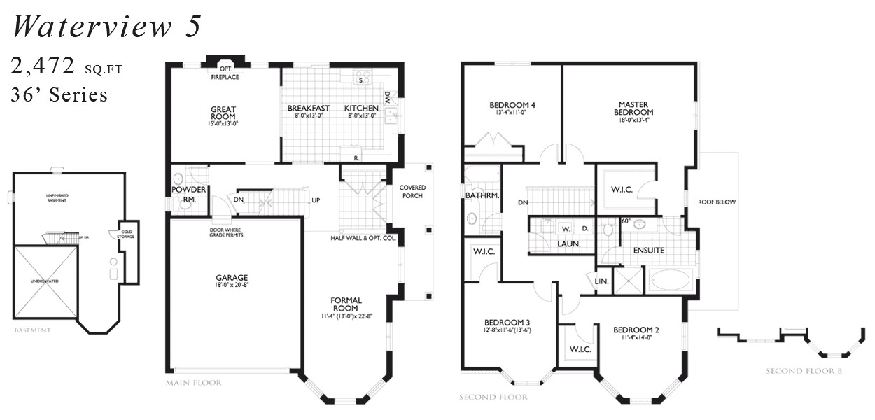 waterview home plans