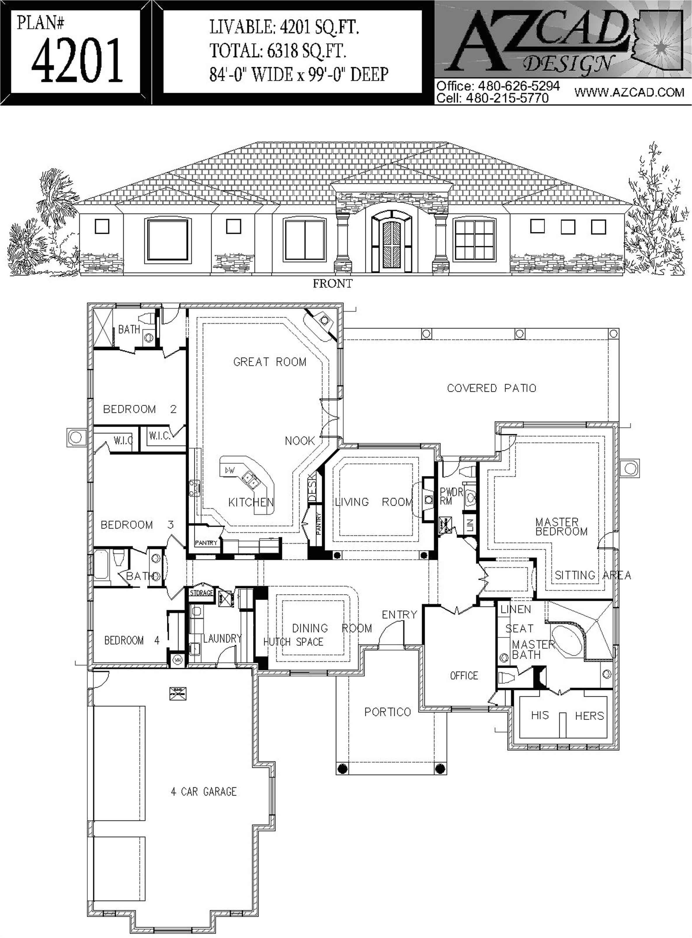 house plans in tucson az