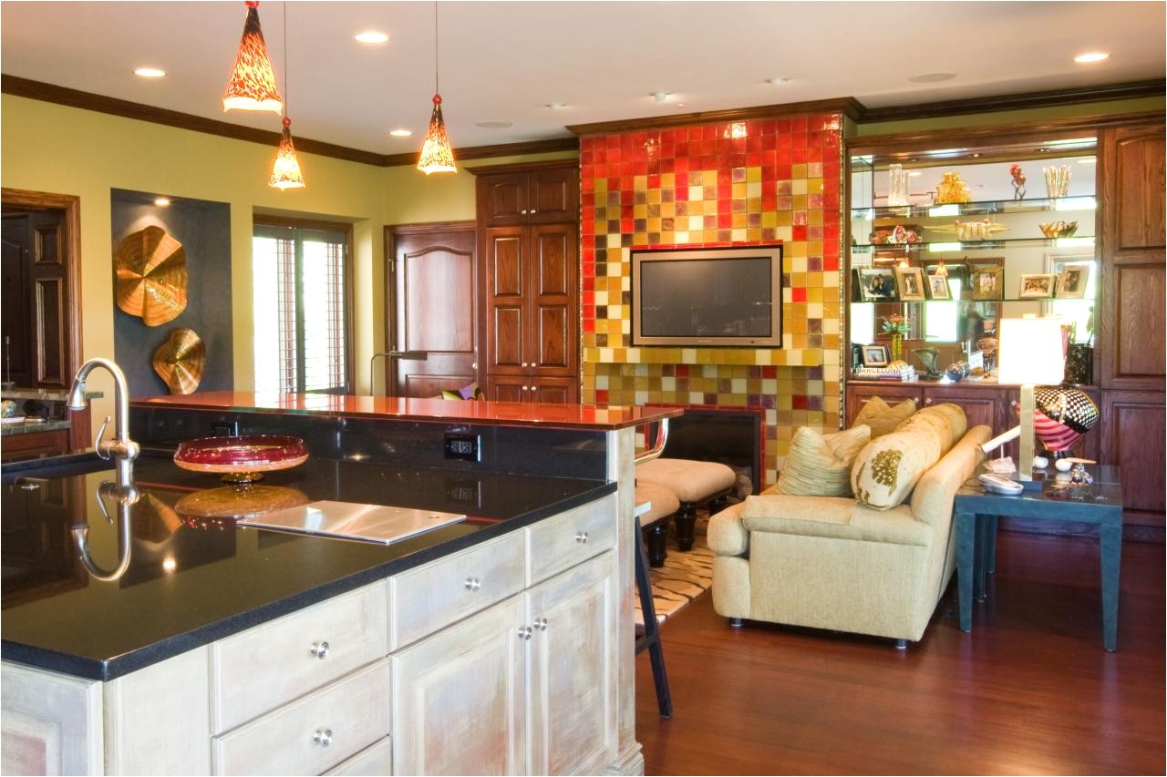 incredible kitchen with hearth room for your beloved home interior design