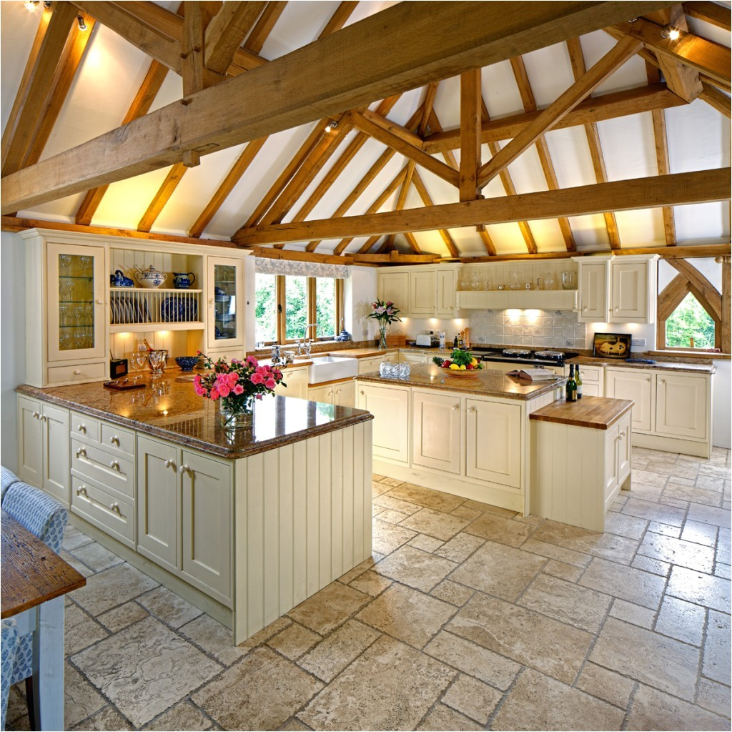 luxurious country house kitchen design on home kitchens