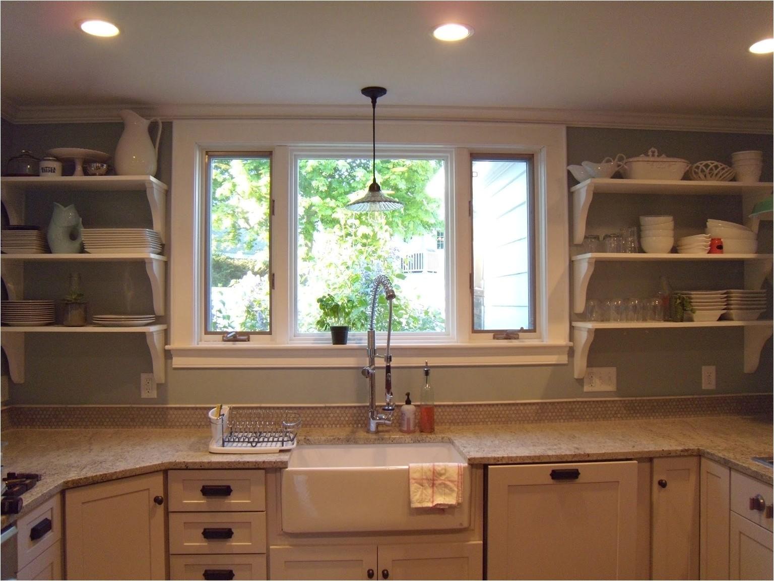 contemporary kitchen window design