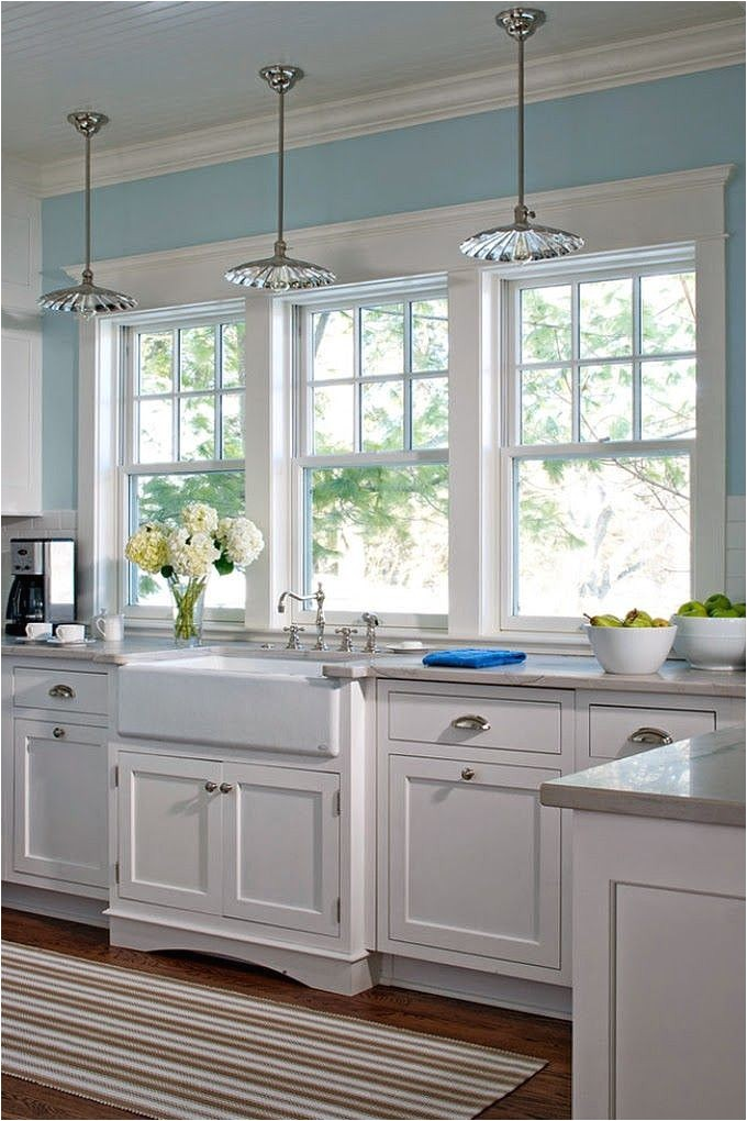 kitchen window flush with counter
