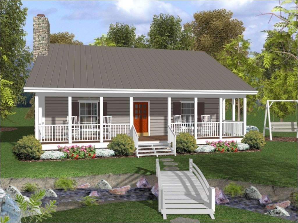 house plans with large front and back porches