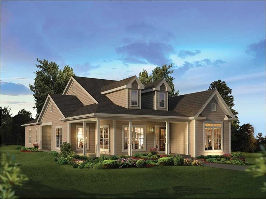 nice house plans with large front and back porches