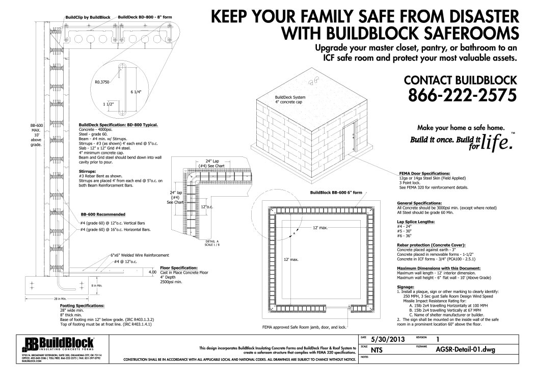 house plans with tornado safe room