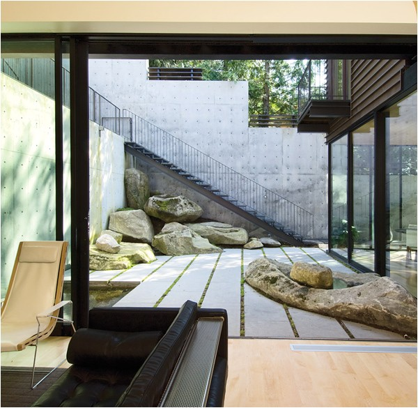 home courtyards