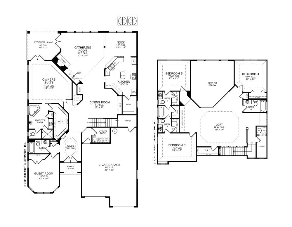 ici homes floor plans