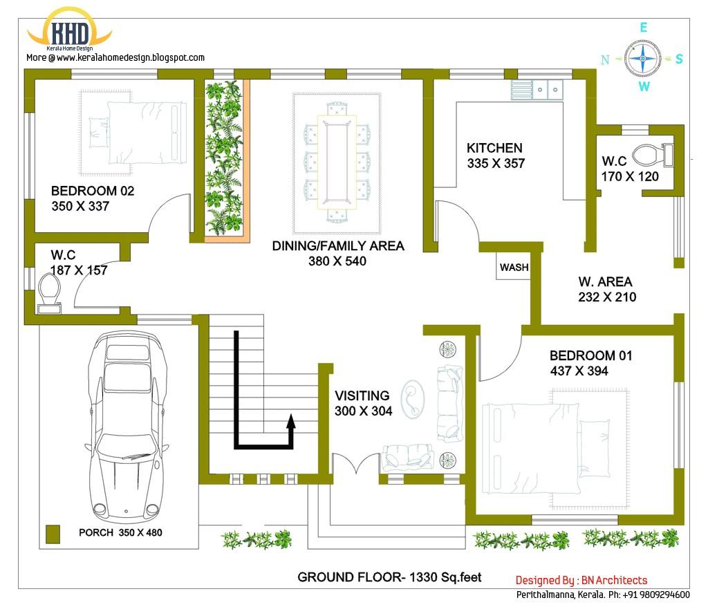 2 storey house design with 3d floor