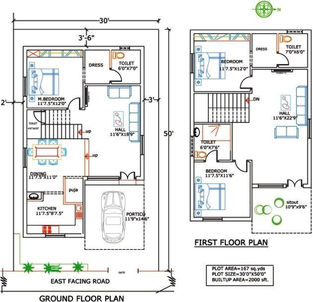 Indian Duplex Home Plans 15 Best East Facing House Plan Images On Pinterest Floor