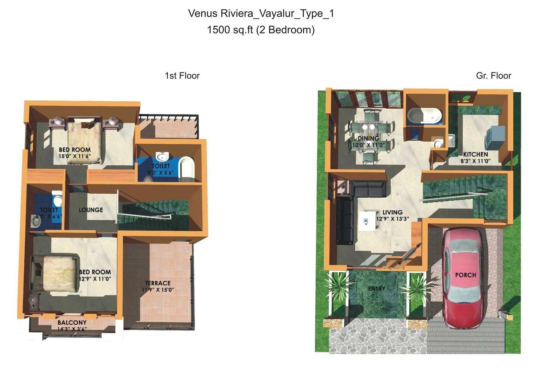 600 sq ft duplex house plans indian style