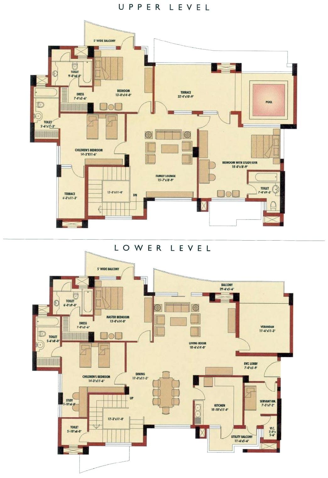 duplex house floor plans indian style fresh house plan 4 bedroom duplex house plans india