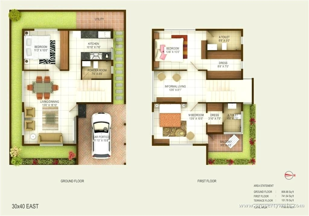 duplex house plans in indian style