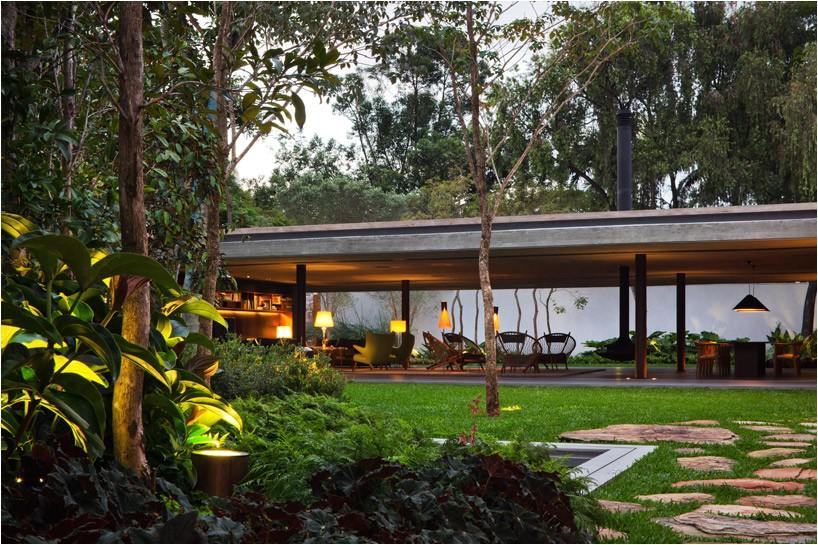indoor outdoor living plan