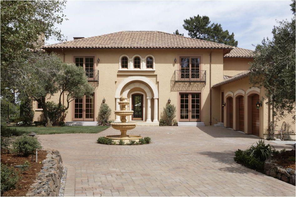 small italian style house plans