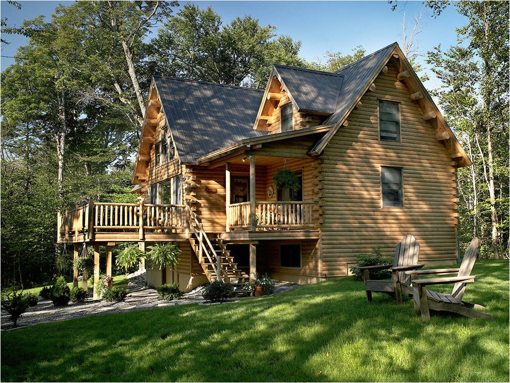 Katahdin Log Home Floor Plan Sebec Log Cabin Floor Plan by Katahdin Cedar Log Homes