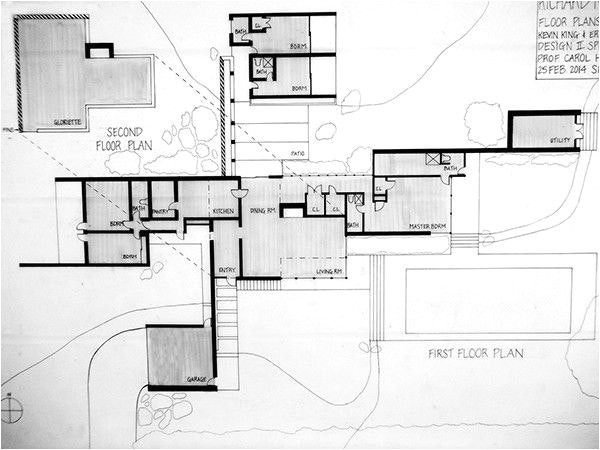 kaufmann desert house floor plan