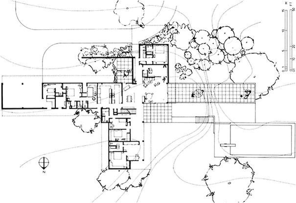 kaufmann desert house richard neutra 1946 the home was regarding richard neutra house plans