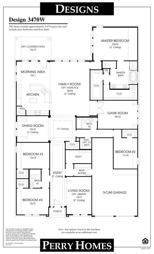 kdr homes floor plans