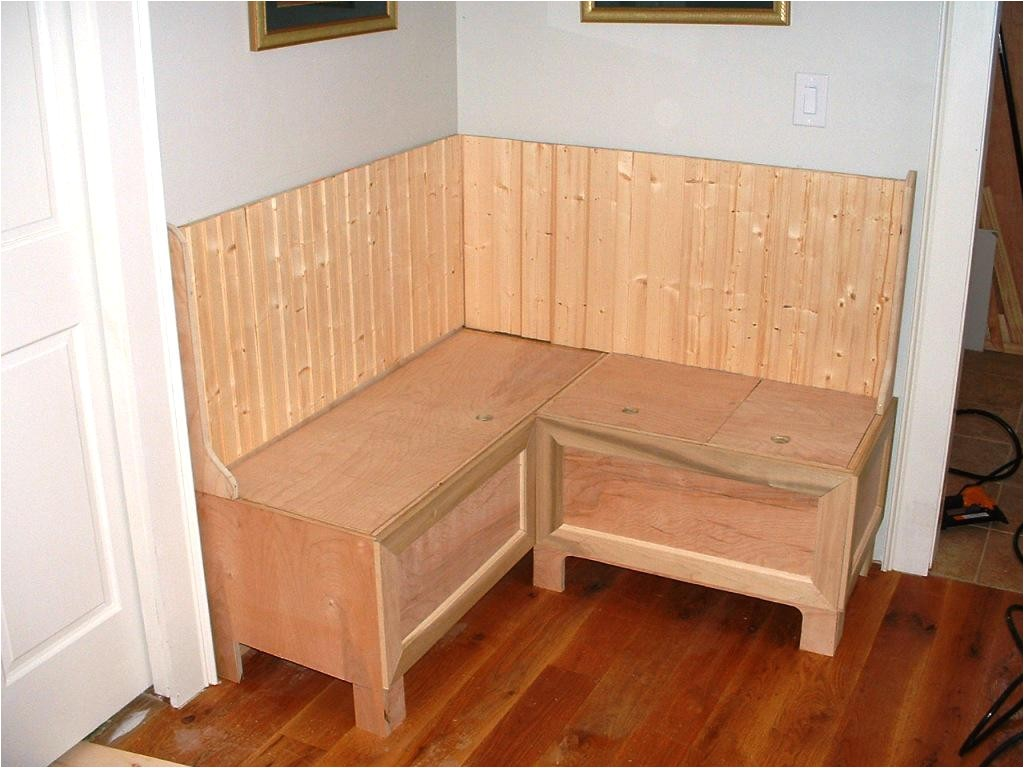 comfy and useful banquette bench with storage