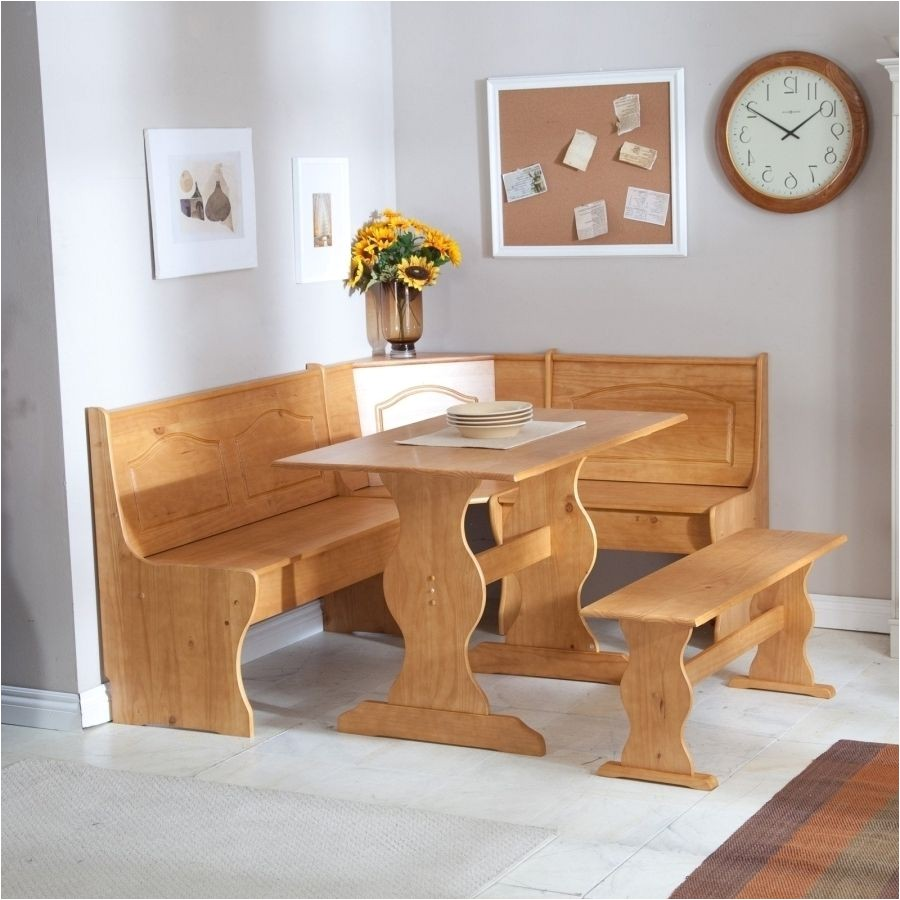 corner kitchen table with bench