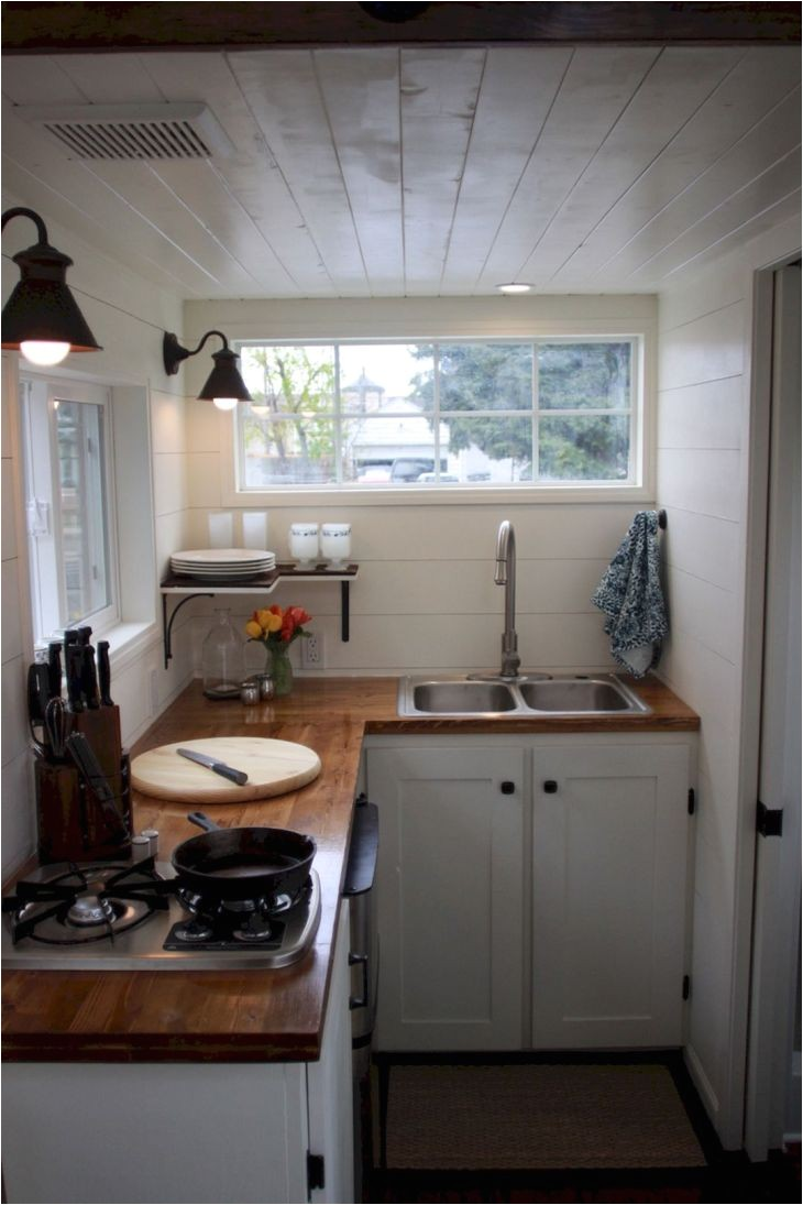 awesome tiny kitchen design for your beautiful tiny house 65 best design ideas