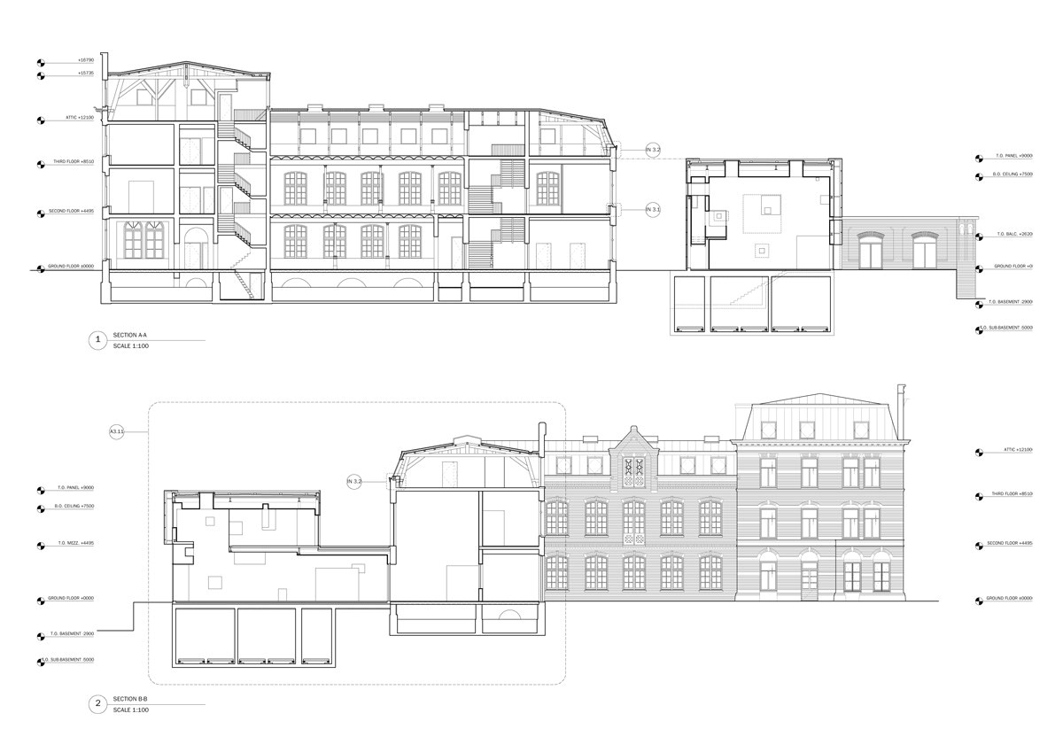 sarphatistraat offices steven holl architects