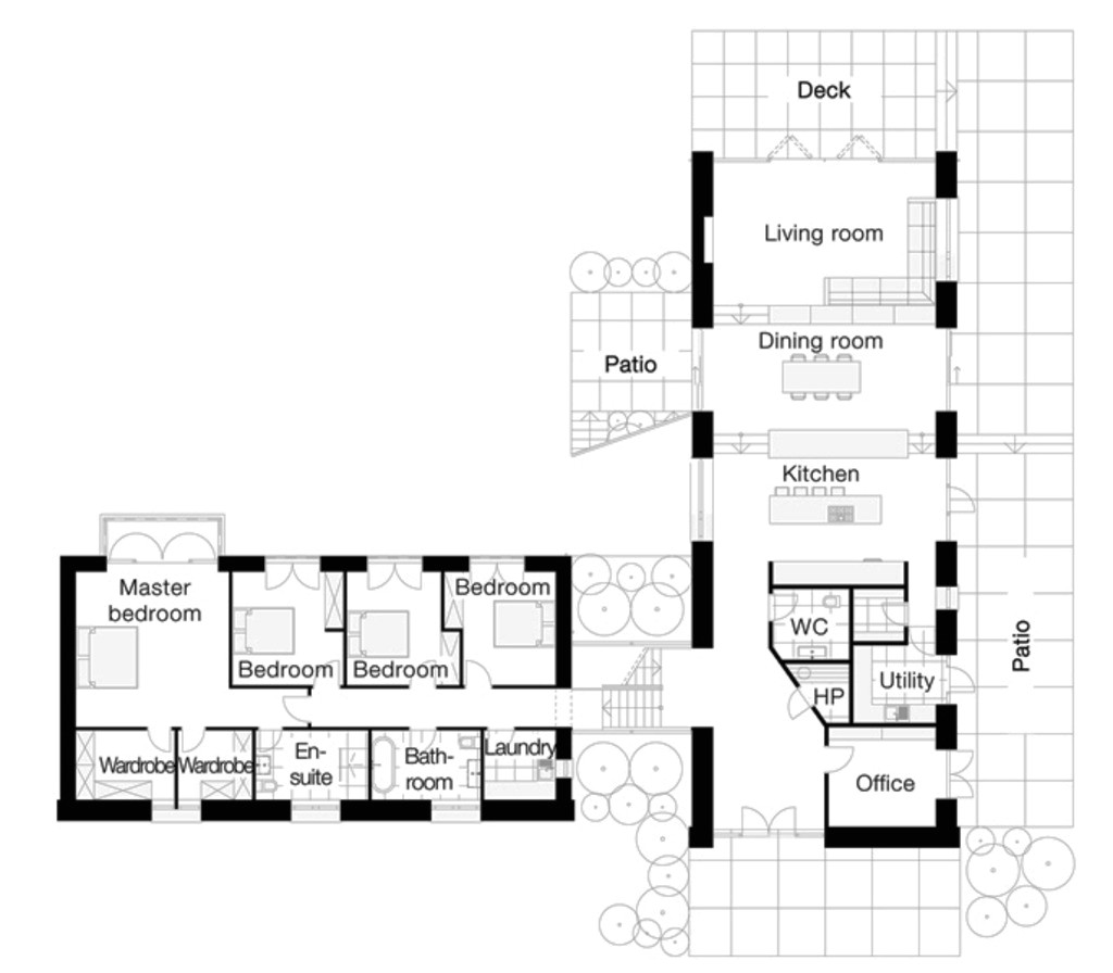 3904 square feet 4 bedrooms 2 bathroom traditional house plans 1 garage 36729