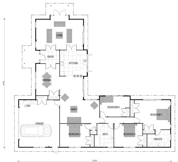 l shaped 4 bedroom house plans awesome best 25 l shaped house plans ideas only on pinterest 2