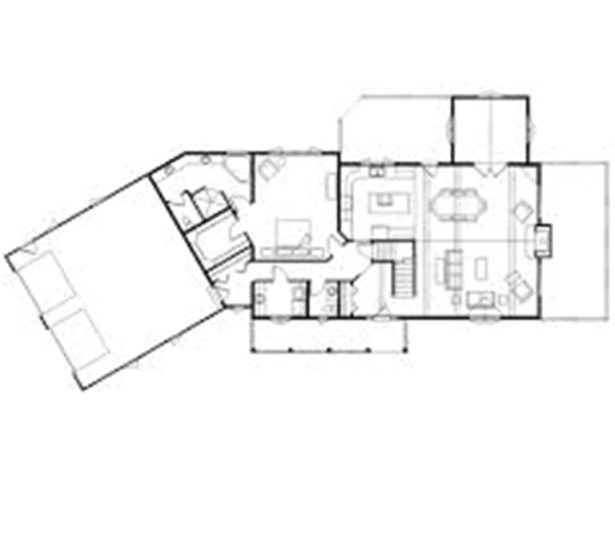 some ideas of l shaped house plans